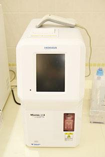 全自動血球計数器・CRP測定器